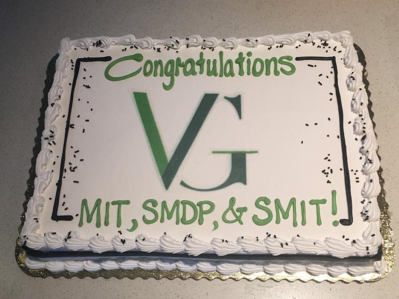 VG Graduation Cake